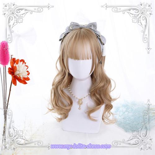 Melissa~ Natural Sideburns Long Curls Lolita Wig
