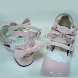 Pink White Cute Lolita Shoes