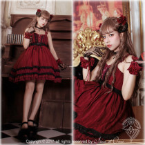 Little Deamon~  Vintage Lolita Corset JSK Dress