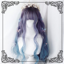 Mermaid~ Sweet Lolita Long Curls Wig 55cm