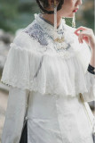 Hole Fairy Guide~ Qi Lace Lolita Bolero /Accessories-Ready Made
