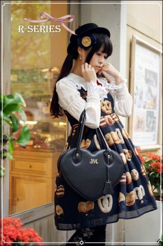 R-series ~Ribbon Cookies~ Lolita Jumper Dress Version I