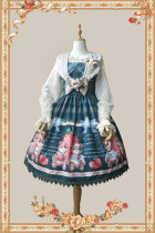 Infanta ~ Strawberry Bear Lolita JSK