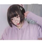 Hengji~ Small Mangosteen~25cm Short Curls Lolita Wig~Pre-order