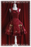 Infanta King and Nightingale Embroidery Velvet JSK Dress 4 Colors -OUT