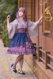 IchigoMiko ~Night Sakura Krathong~ Lolita Blouse -Pre-order