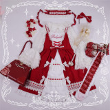 Anna Baby~ Lolita JSK Dress Red L In Stock