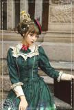 Ichigomikou ~Detective Family~ Low Waist One Piece Dress