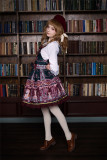 Chocolate Bear~ Lolita Printed Salopette