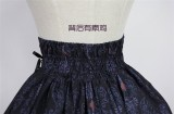 Nightmare Spells~ Lolita Skirt Black Size M In Stock