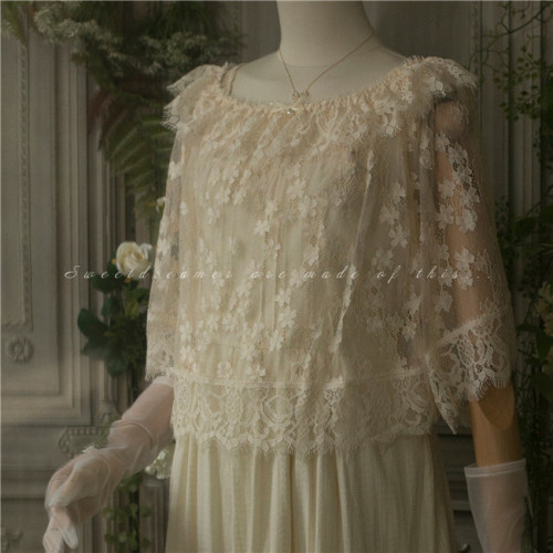 Summer Partner ~ Lace Lolita Blouse
