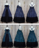 Carol~ Lolita HIgh Waist JSK Long Version -Ready Made