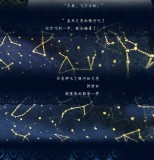 Yidhra -The Night of Galaxy- Gold-stamping Printed Lolita Tights for Summer - IN STOCK