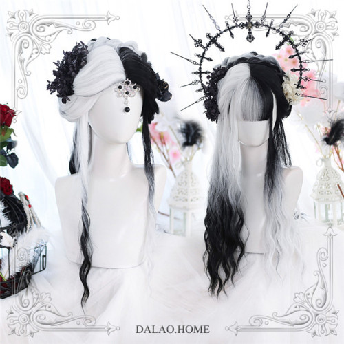 Dalao Home ~Arrogance & Greed ~Color Split Lolita Wigs