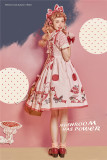 Dream In July ~Mushroon Has Power~ Sweet Lolita JSK -Ready Made