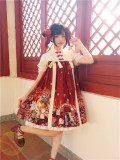 Tommy Bear ~ Cat Lanterns Show~ Qi Lolita OP Dress
