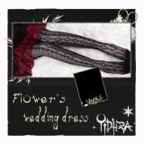 Flower's Wedding Dress Summer Lolita Above Knee Socks