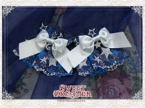 Cutie Creator ~Star Fall Night~ Stars Lace Lolita Wristcuffs