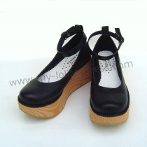 Black Classic Platform Lolita Shoes