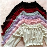 Summer Sweetheart~ Sweet Chiffon Lolita Blouse Short Version