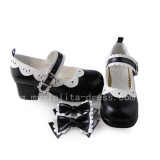 White Trim Sweet Lolita Girls sandals