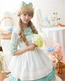Daisy and Dandelion ~Sweet Lolita Medium Sleeves OP Dress