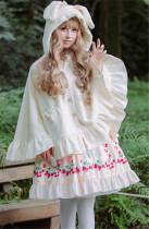 Sweet Bunny Ears Lolita Cape
