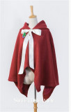 Chirstmas Bunny Baby Cape