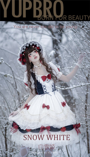 YUPBRO Lolita ~Snow White Lolita OP -Ready MADE