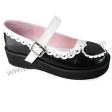 Hearts Single Strap Sweet Shoes
