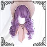 A Letter From Audrey ~Vinatge Med-leng Curls Lolita Wigs