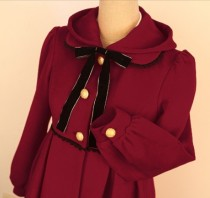HMHM Wool Hat Lolita Jacket