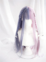 A Double Serenade~ Base Long Straight Lolita Wig 75cm