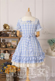 Strawbery Witch ~Sailor Style Gingham Lolita OP