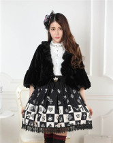 Alice's Chess Grid Lolita Skirt