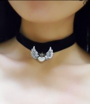 Gothic Angel Wings Lolita Necklace