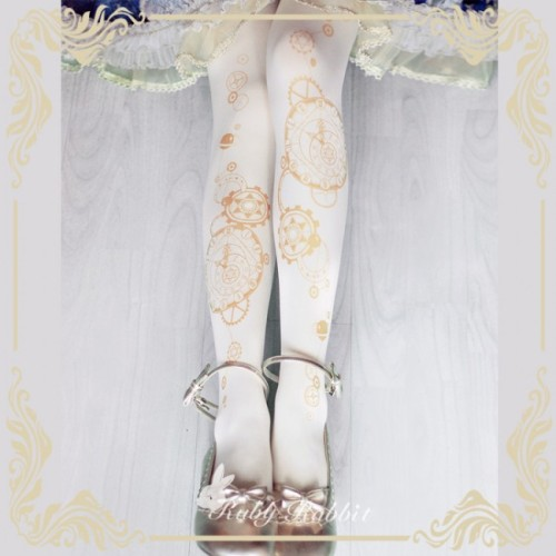 Ruby Rabbit ~The Astrologer's Universe~ Lolita Tights