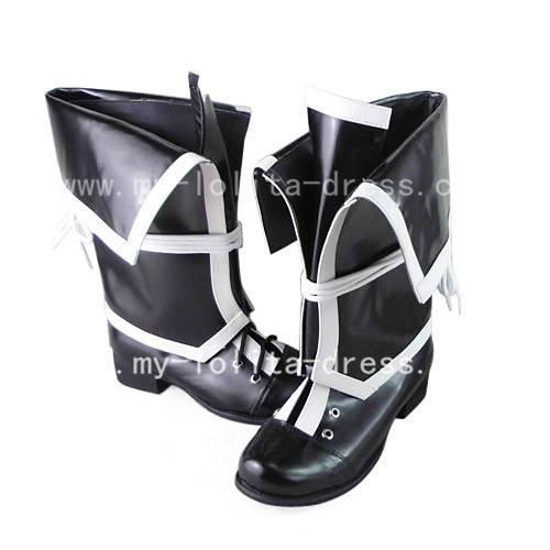 Gothic Black Togainu no Chi Boots