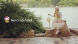 Aurora & Ariel Garden of Jam Chiffon JSK Size M - In Stock