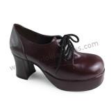 Women's Classic Belts Lolita Heels Shoes