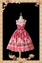 Infanta Strawberry Ice Cream Lolita Jumper -Ready Made