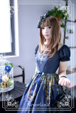 Neverland Lolita -Holy Cross- Lolita Short Sleeves OP Dress -OUT