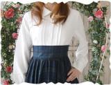 Vintage Elegant Slim Gingham OP/skirt