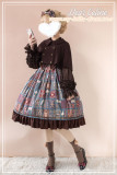 Aisha's Magic Book~ High Waist Lolita JSK -Ready Made