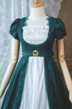 Surfacespell ~ Nightingale and Rose~ Embroidery Vintage Dress -Limited Quantity Pre-order Closed