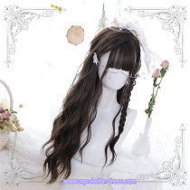 Yesterday~70cm Long Curls Water Ripple Lolita Wig
