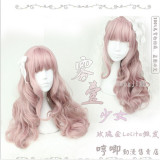 Sweet Daily Wear Lolita Long Curly Wig for Girls