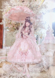 Elpress L Elis Luxury Details Lolita Dress* Payment Plan Available -Ready Made Pink M - In Stock