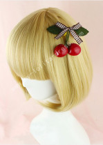 Cute Gold Bobo Lolita Wig