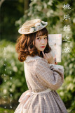 Infanta ~Doris' Journey~ Gingham Lolita OP -Ready Made